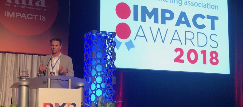 """Early Warning Labs named """"Disrupter of the Year"""" at the 2018 IMPACT Conference"""