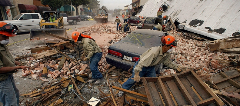 In shadow of San Andreas fault, hundreds of Inland Empire buildings face collapse in huge earthquake